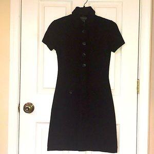 Banana Republic Soft Stretch Little Black Dress